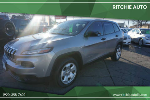 2015 Jeep Cherokee for sale at Ritchie Auto in Appleton WI