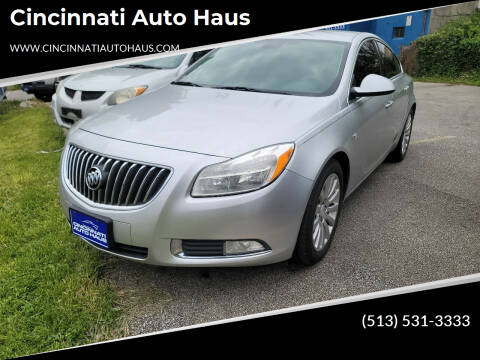 2011 Buick Regal for sale at Cincinnati Auto Haus in Cincinnati OH