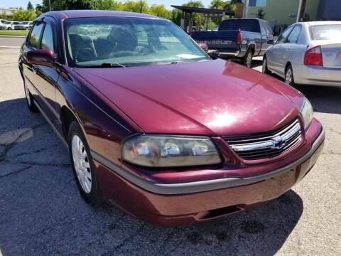 2003 Chevrolet Impala for sale at MQM Auto Sales in Nampa ID