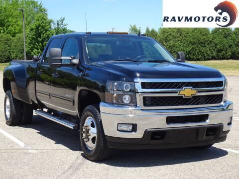 2013 Chevrolet Silverado 3500HD for sale at RAVMOTORS in Burnsville MN