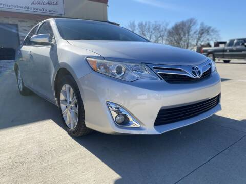 2012 Toyota Camry for sale at Princeton Motors in Princeton TX