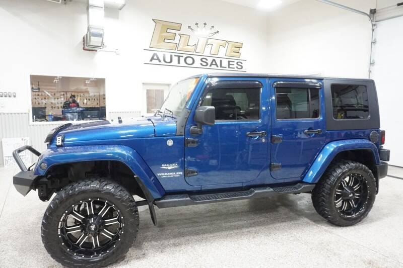 2009 Jeep Wrangler Unlimited for sale at Elite Auto Sales in Ammon ID