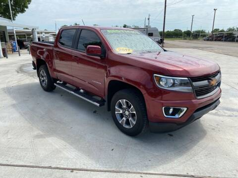 2017 Chevrolet Colorado for sale at Bostick's Auto & Truck Sales in Brownwood TX