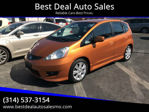 2009 Honda Fit for sale at Best Deal Auto Sales in Saint Charles MO