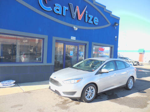 2017 Ford Focus for sale at Carwize in Detroit MI