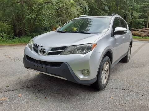 2013 Toyota RAV4 for sale at Cappy's Automotive in Whitinsville MA