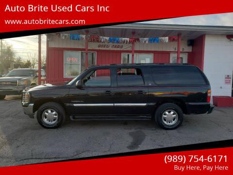 2003 GMC Yukon XL for sale at Auto Brite Used Cars Inc in Saginaw MI