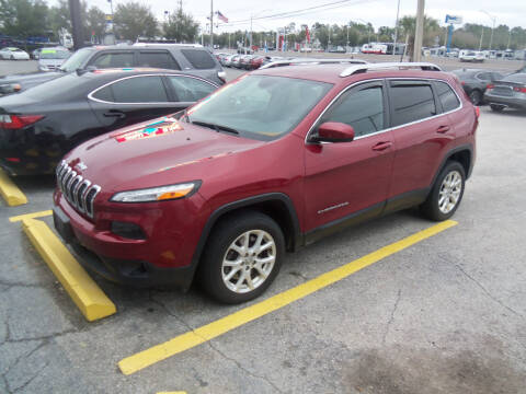 2016 Jeep Cherokee for sale at ORANGE PARK AUTO in Jacksonville FL