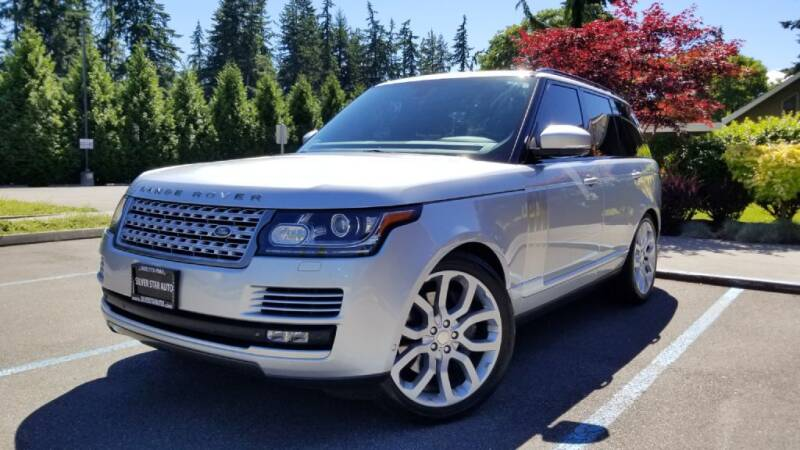 2014 Land Rover Range Rover for sale at Silver Star Auto in Lynnwood WA