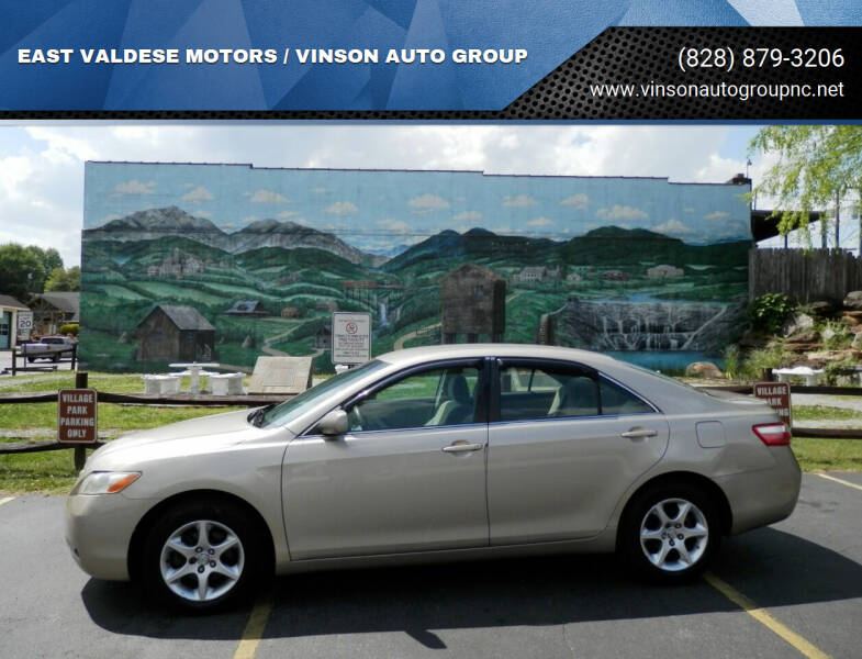 2008 Toyota Camry for sale at EAST VALDESE MOTORS / VINSON AUTO GROUP in Valdese NC