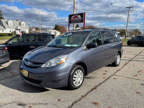 2006 Toyota Sienna for sale at JK & Sons Auto Sales in Westport MA