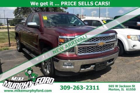 2014 Chevrolet Silverado 1500 for sale at Mike Murphy Ford in Morton IL