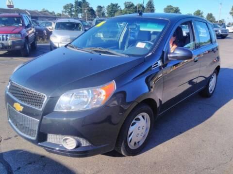 2010 Chevrolet Aveo for sale at L&T Auto Sales in Three Rivers MI