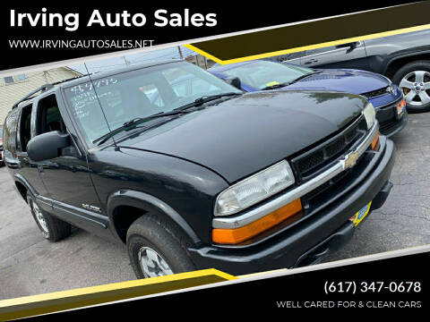 2004 Chevrolet Blazer for sale at Irving Auto Sales in Whitman MA