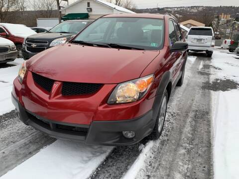 2003 Pontiac Vibe for sale at JM Auto Sales in Shenandoah PA
