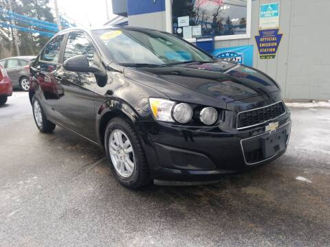 2012 Chevrolet Sonic for sale at Bizzarro`s Fleetwing Auto Sales in Erie PA