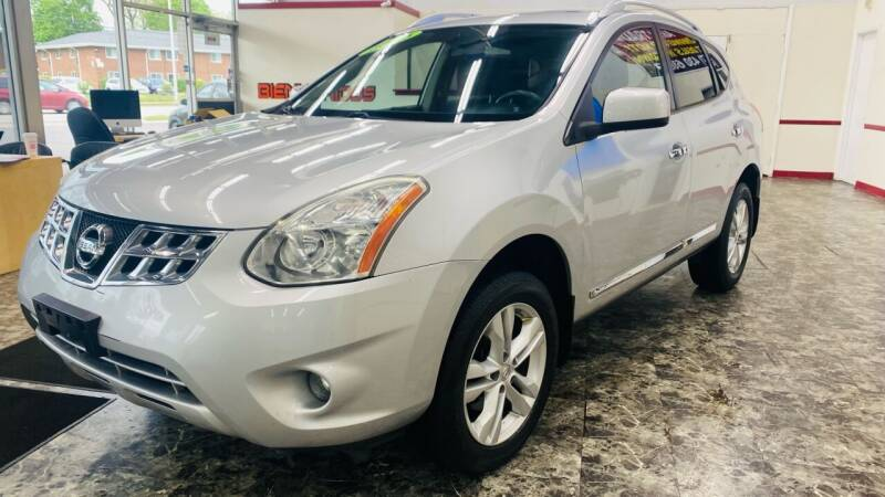 2013 Nissan Rogue for sale at TOP YIN MOTORS in Mount Prospect IL