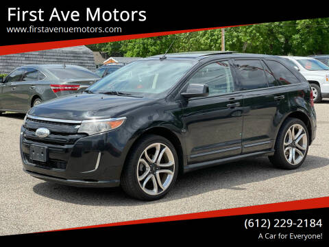2011 Ford Edge for sale at First Ave Motors in Shakopee MN