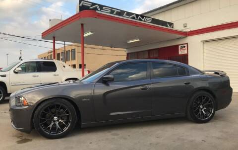 2014 Dodge Charger for sale at FAST LANE AUTO SALES in San Antonio TX