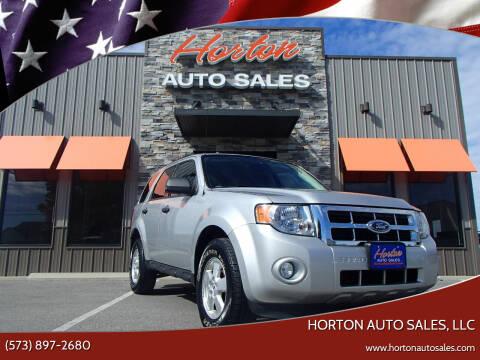 2009 Ford Escape for sale at HORTON AUTO SALES, LLC in Linn MO