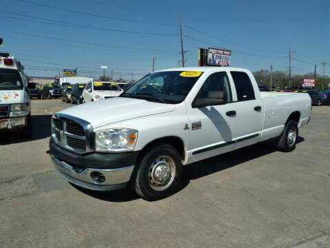 2007 Dodge Ram Pickup 2500 for sale at Taylor Trading Co in Beaumont TX