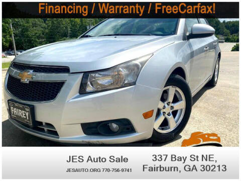 2011 Chevrolet Cruze for sale at JES Auto Sales LLC in Fairburn GA