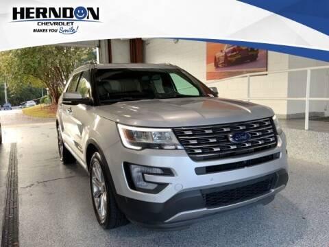 2017 Ford Explorer for sale at Herndon Chevrolet in Lexington SC