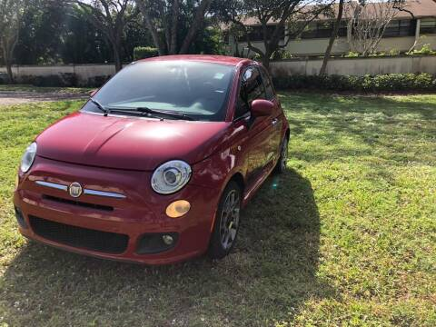 2013 FIAT 500 for sale at GERMANY TECH in Boca Raton FL