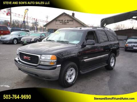 2003 GMC Yukon for sale at Steve & Sons Auto Sales in Happy Valley OR
