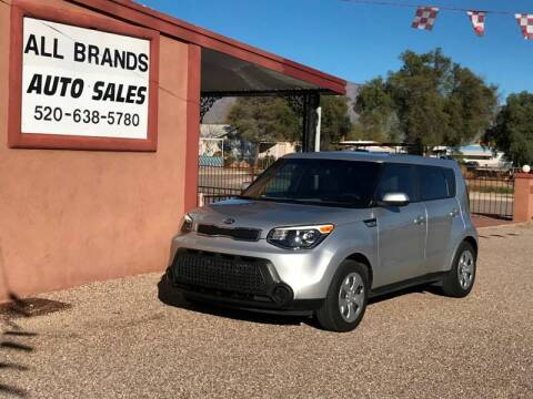 2015 Kia Soul for sale at All Brands Auto Sales in Tucson AZ