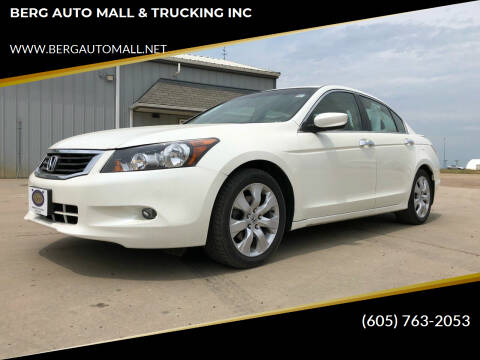 2009 Honda Accord for sale at BERG AUTO MALL & TRUCKING INC in Beresford SD