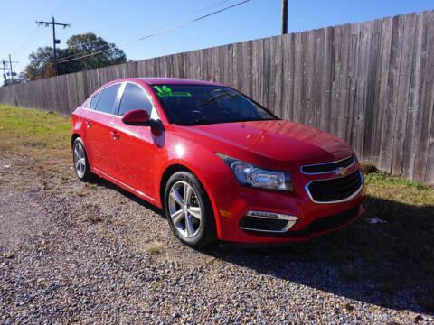 2016 Chevrolet Cruze Limited for sale at BLUE RIBBON MOTORS in Baton Rouge LA