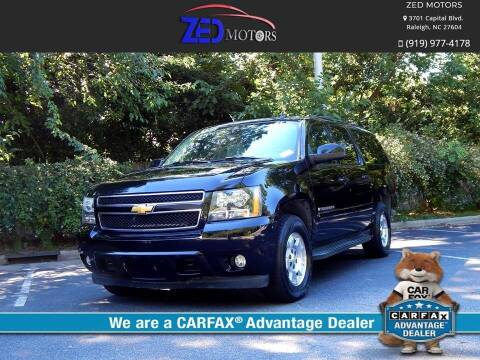 2007 Chevrolet Suburban for sale at Zed Motors in Raleigh NC