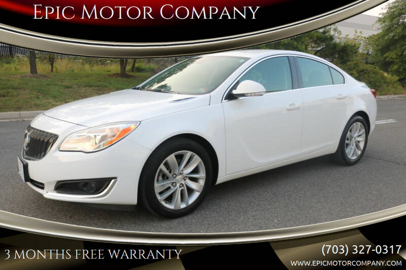 2016 Buick Regal for sale at Epic Motor Company in Chantilly VA