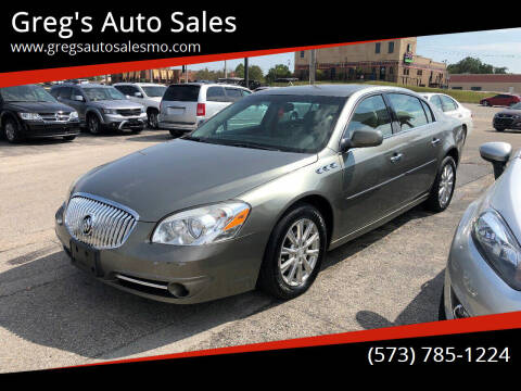 2011 Buick Lucerne for sale at Greg's Auto Sales in Poplar Bluff MO