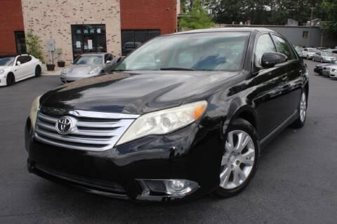 2012 Toyota Avalon for sale at Atlanta Unique Auto Sales in Norcross GA