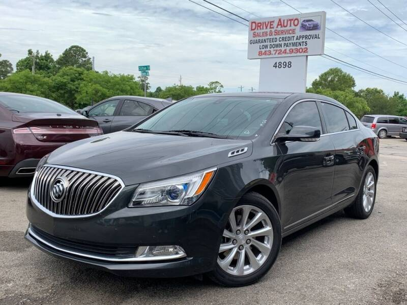 2015 Buick LaCrosse for sale at Drive Auto Sales & Service, LLC. in North Charleston SC