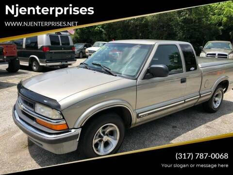 2000 Chevrolet S-10 for sale at NJ Enterprises in Indianapolis IN
