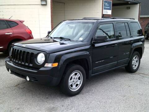 2011 Jeep Patriot for sale at Wamsley's Auto Sales in Colonial Heights VA