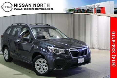 2019 Subaru Forester for sale at Auto Center of Columbus in Columbus OH