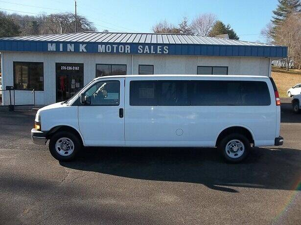 2015 Chevrolet Express Passenger for sale at MINK MOTOR SALES INC in Galax VA