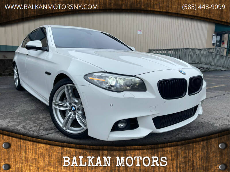 2015 BMW 5 Series for sale at BALKAN MOTORS in East Rochester NY