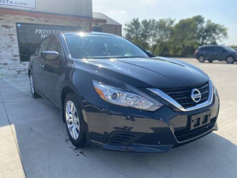 2017 Nissan Altima for sale at Princeton Motors in Princeton TX