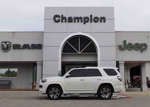 2018 Toyota 4Runner for sale at Champion Chevrolet in Athens AL