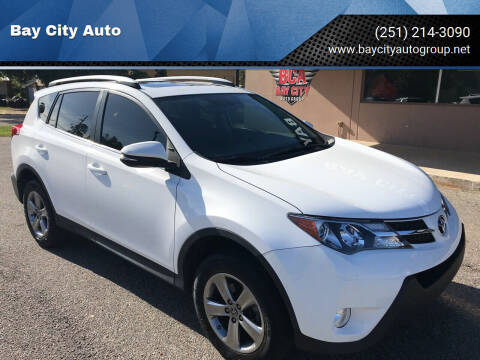 2015 Toyota RAV4 for sale at Bay City Auto's in Mobile AL