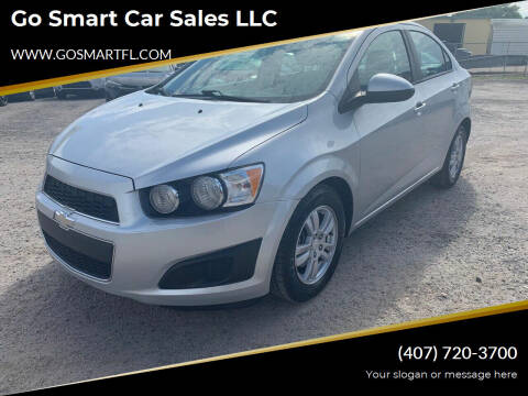 2012 Chevrolet Sonic for sale at Go Smart Car Sales LLC in Winter Garden FL