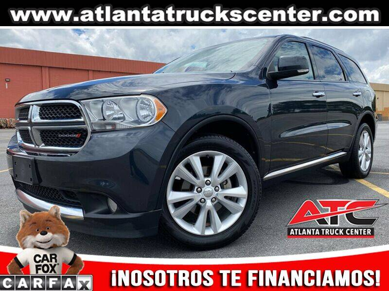 2013 Dodge Durango for sale at ATLANTA TRUCK CENTER LLC in Brookhaven GA