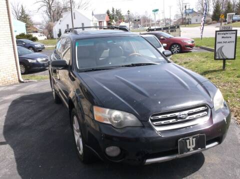 2005 Subaru Outback for sale at Straight Line Motors LLC in Fort Wayne IN