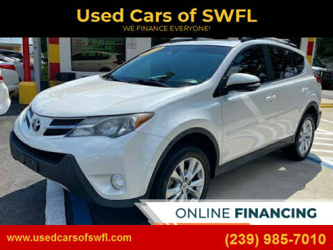 2014 Toyota RAV4 for sale at Used Cars of SWFL in Fort Myers FL