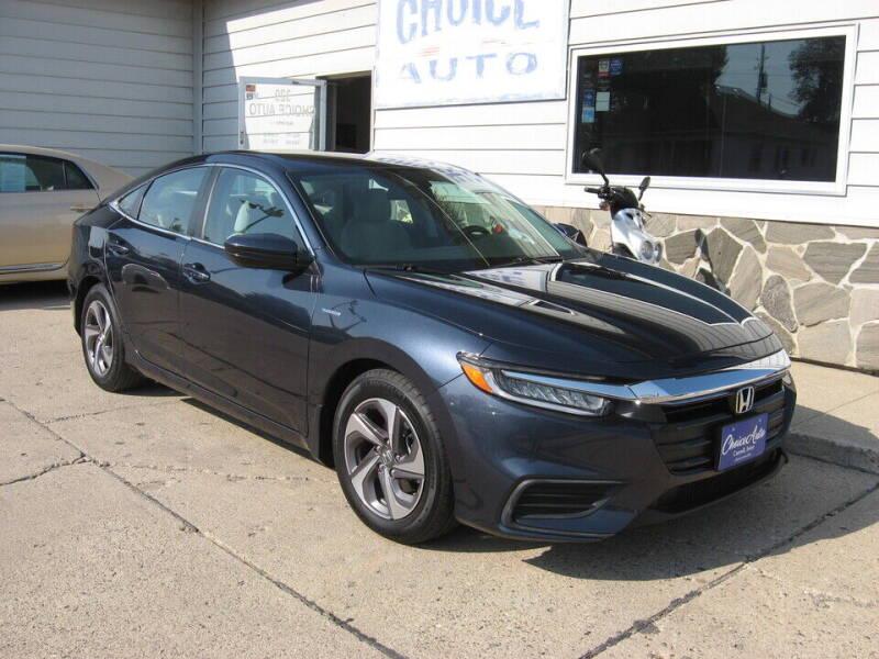 2019 Honda Insight for sale at Choice Auto in Carroll IA